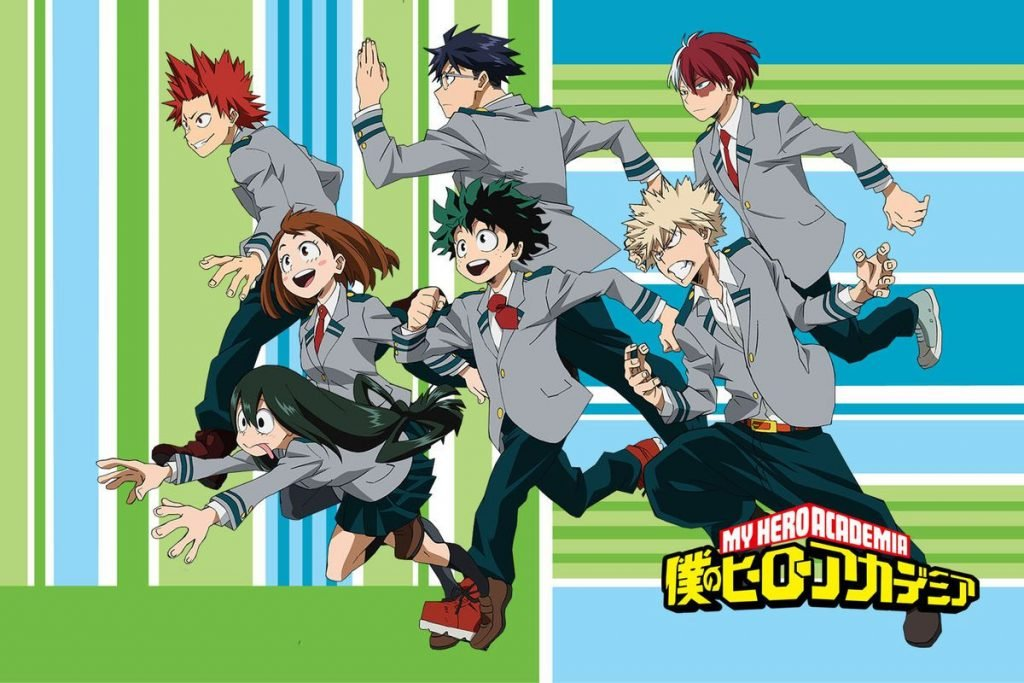 "Neues Visual zu ""My Hero Academia"" Staffel 3 Part 2 & Starttermin"