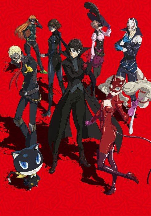 """""""Persona 5: The Animation"""" - Visual zur 2. Hälfte veröffentlicht"""