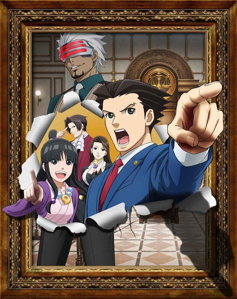 "Starttermin & Visual zur 2. Staffel des ""Ace Attorney"" Krimi-Anime"