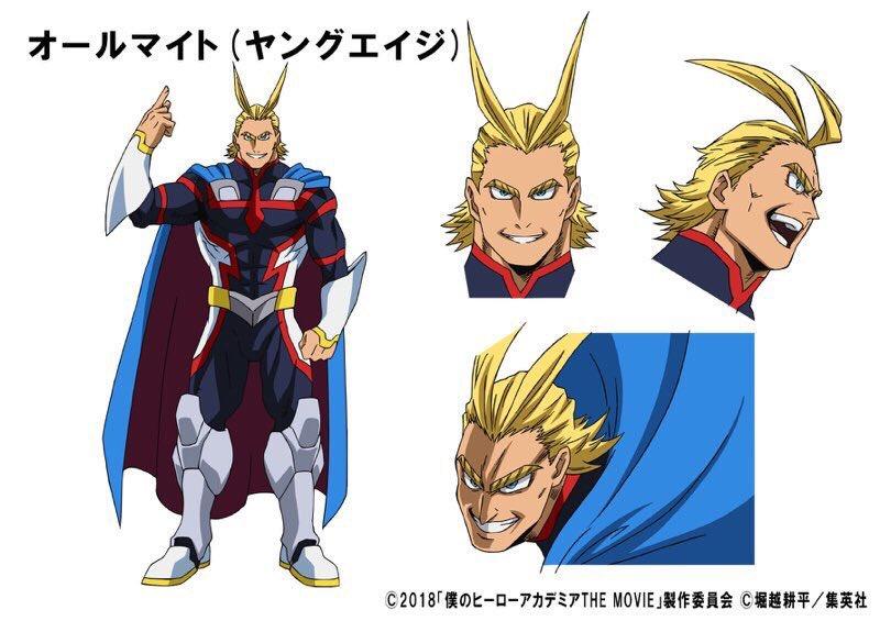 """Neue Charakterdesigns zum """"My Hero Academia: Two Heroes""""-Film veröffentlicht"""