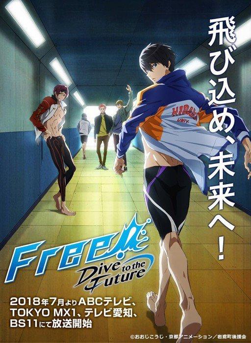 """Opening und Ending zur 3. Staffel """"Free!"""" veröffentlicht"""