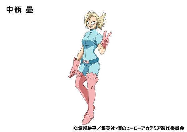7 neue Charakterdesigns zu My Hero Academia veröffentlicht