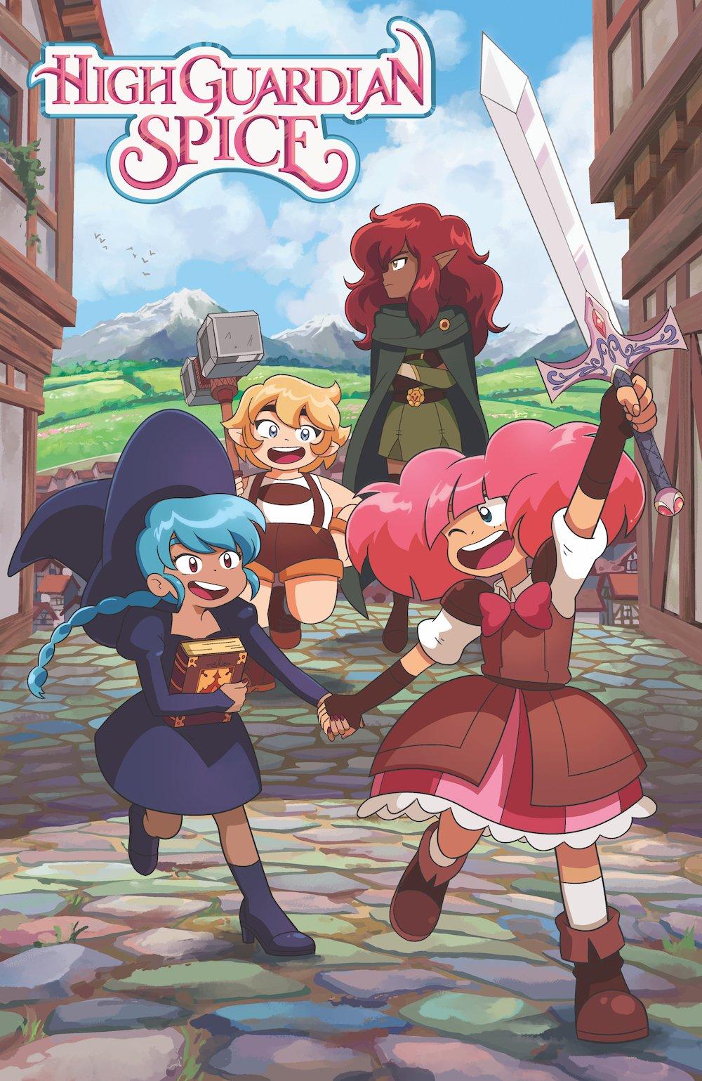 """Crunchyroll produziert Anime inspirierte Original-Serie """"High Guardian Spice"""""""