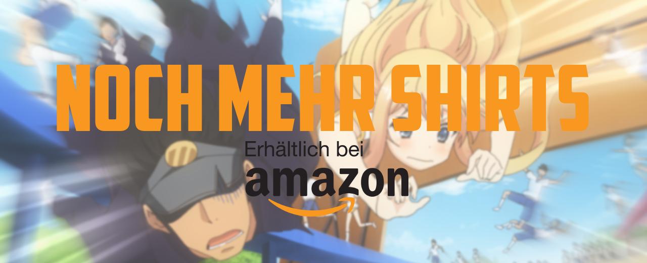 Die besten Anime Shirts bei Amazon - Mode für Otakus