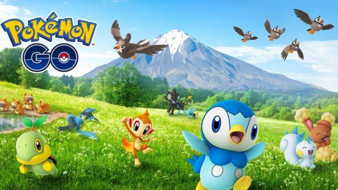 Pokémon GO Generation 4 ist da & diese Pokémon lassen sich bereits fangen!