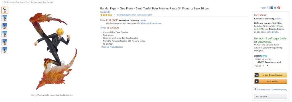 One Piece Figuren auf Amazon kaufen: Das musst du beachten!