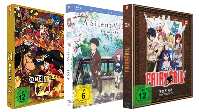 3 für 2: Anime-Serien und -Filme bei Amazon günstig kaufen - Aktion