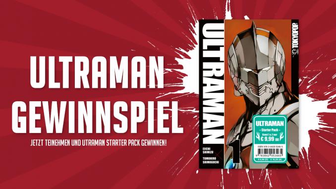 Gewinnspiel: Ultraman Manga (Band 1&2)