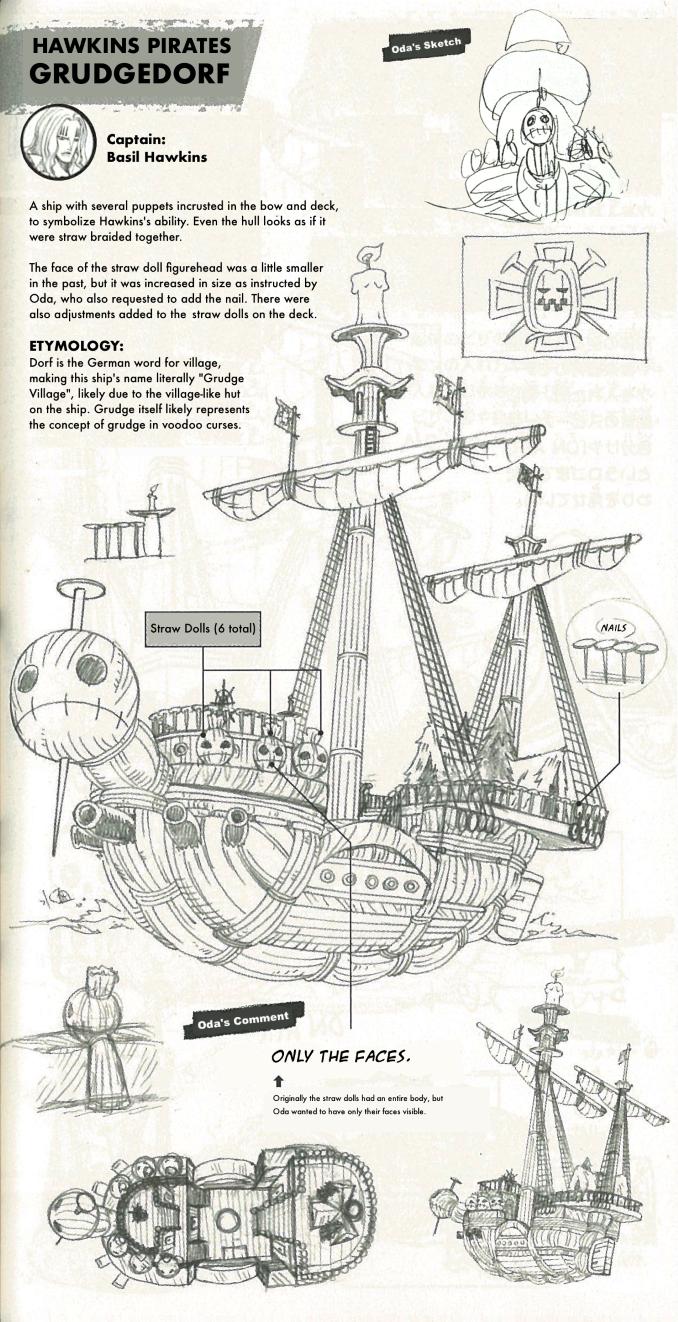 One Piece: So schick sehen die Schiffe der Supernovae aus