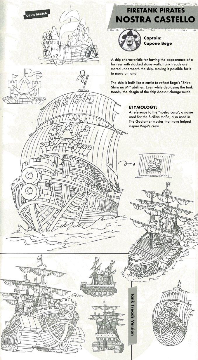 One Piece: So sehen schick die Schiffe der Supernovae aus