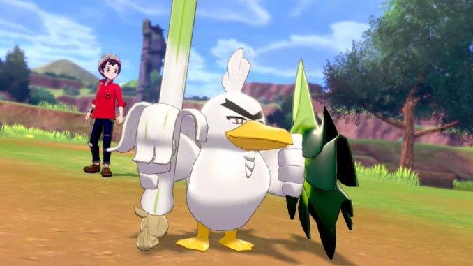 Pokémon Schwert & Schild -Neues Pokémon vorgestellt: Lauchzelot