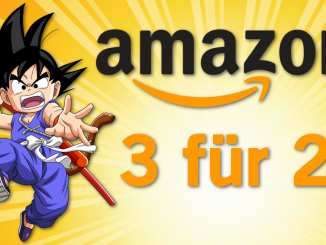 3 kaufen, 2 zahlen: Große Anime-Aktion bei Amazon
