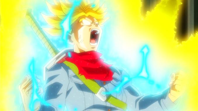 Super Dragon Ball Heroes: Trunks erreicht eine der mächtigsten Saiyajin-Formen