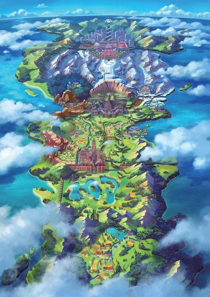 Pokémon Schwert & Schild: Naturzone ist so groß wie Regionen in Zelda: Breath of the Wild