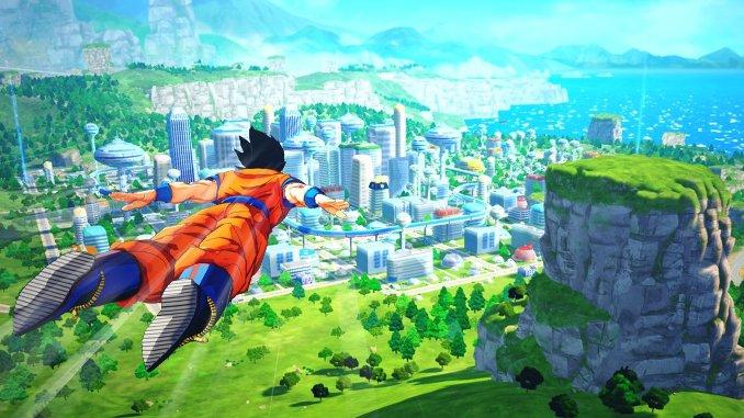 Dragon Ball Z: Kakarot - Die Open-World des Rollenspiels ist unglaublich groß