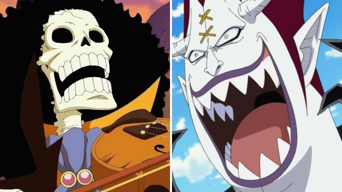 One Piece: Teufelsfrüchte von Brook & Gecko Moria offiziell enthüllt