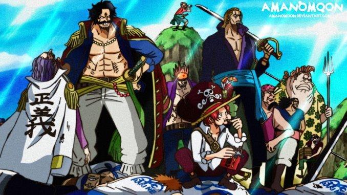 One Piece entfacht den gewaltigen Kampf zwischen Gold Roger und Whitebeard