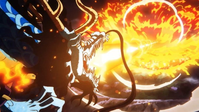 One Piece zeigt den gewaltigen Kampf zwischen Kaido und Oden