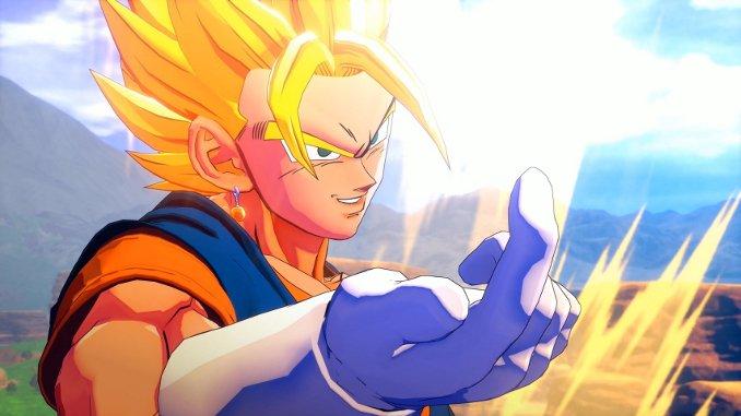 Dragon Ball Z: Kakarot - Neuer DLC macht Super Saiyajin Gott-Verwandlung möglich