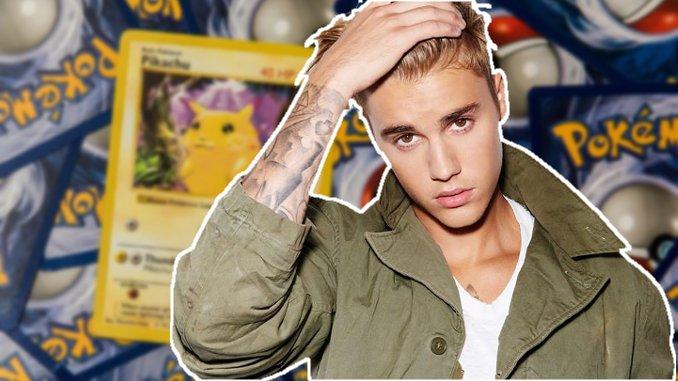 Stolze Sammlung: Justin Bieber zeigt seine seltenen Pokémon-Karten