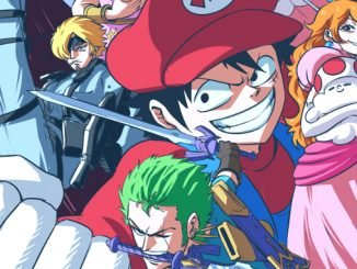 One Piece-Fan zeichnet Ruffy und seine Freunde im Nintendo-Look