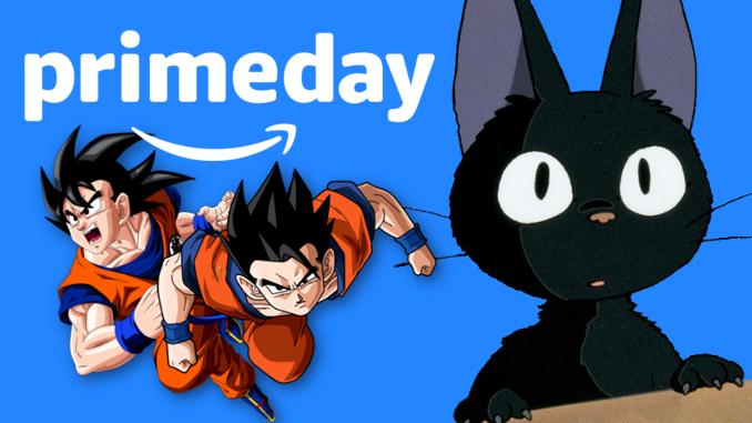 Amazon Prime Day 2020: Große 3-für-2-Aktion für Animes gestartet - jetzt zuschlagen!