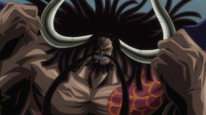 One Piece: Riesige Figur zeigt den Piratenkaiser Kaido in seiner vollen Pracht