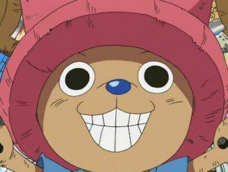 One Piece: Zug im Chopper-Design fährt durch Japans Straßen
