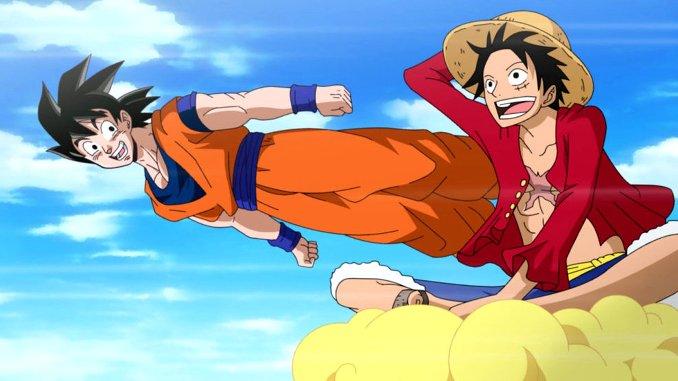Dragon Ball x One Piece: Crossover-Zeichnung zeigt die Manga-Serien vereint