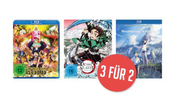 Amazon 3-für-2-Aktion für Animes: One Piece, Demon Slayer & Co. jetzt günstiger kaufen
