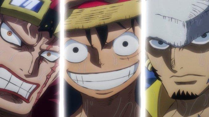 One Piece: Piratentrio feiert überraschendes Comeback im Anime