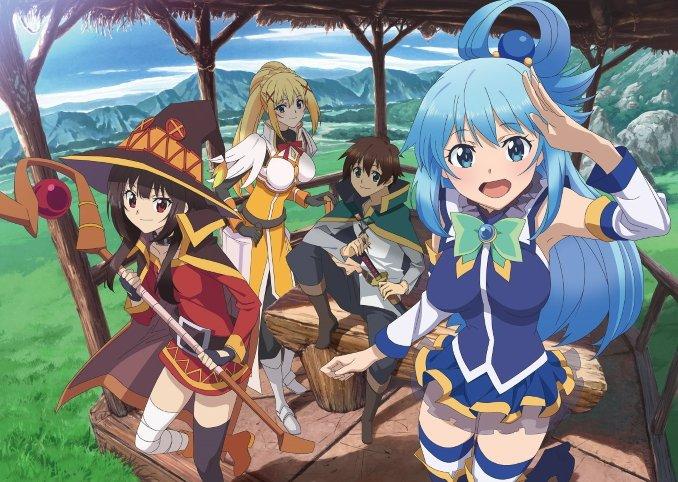 KonoSuba : La 3ème saison de l'aventure Isekai sort-elle maintenant ?