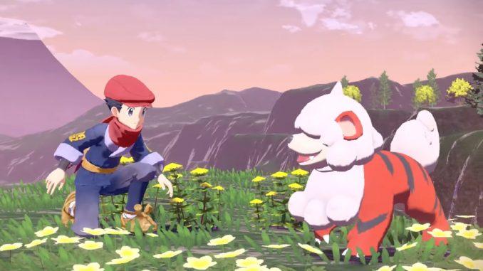 Pokémon Legenden: Arceus - Gameplay-Trailer zeigt lebhafte Open-World