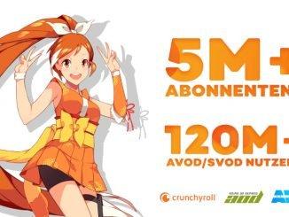 Crunchyroll feiert Meilenstein: Mehr als 5 Millionen zahlende Nutzer
