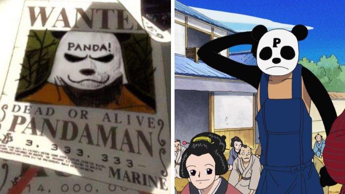 Das größte Easter Egg in One Piece: Pandaman erklärt
