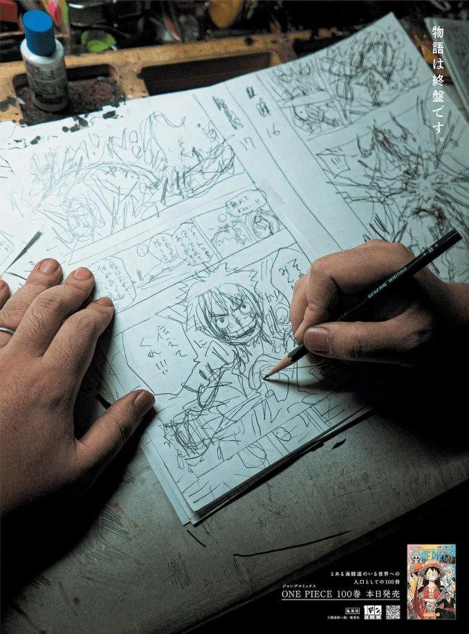 One Piece-Schöpfer Eiichiro Oda spricht über das Ende der Serie